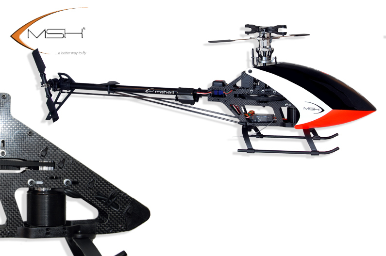 MSH Carbon Protos Helicopter Kit (Air Frame)